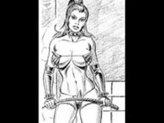 Girl vs girl catfight tribbing bondage spanking lesbians Thumb