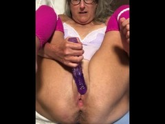 Hot Milf Close Up Dildo Play Asshole Nice And Spread Granny Milf Mature Thumb
