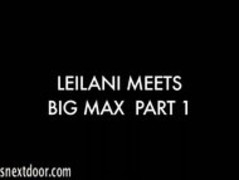 Leilani meet big max Thumb