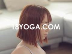 Yoga Teen Tina Hot Choked Slapped Thumb