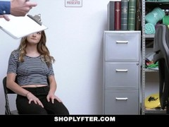 ShopLyfter - Small Tits Teen Blows Her Way Out Of Jail Thumb