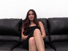 Super Hot Teen First Anal on Backroom Casting Couch Thumb