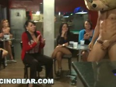 DANCING BEAR - Group Of Horny Women Taking Dick From Male Strippers Thumb