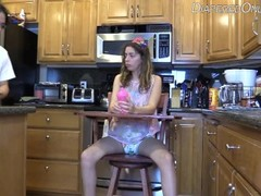 diaper girl high chair punishment Thumb