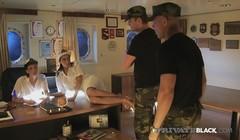 PrivateBlack - B&W Pirates Fuck Cruise Staff Aliz & Abelia! Thumb