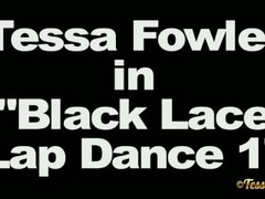 Tessa Fowler - Black Lace Lap Dance — Смотреть В H Thumb