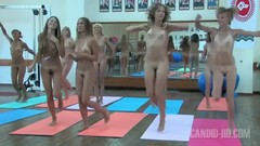 Nude girls group exercise 2 Thumb