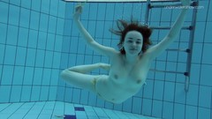 Little tits teen Lada underwater naked Thumb