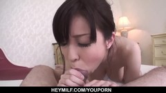 Hard sex in the shower for busty wife, Miina Kanno - More at Japanesemamas.com Thumb