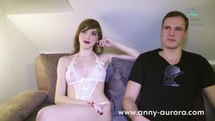 Threesome Porncasting with MILF Dirty Tina and Teen Anny Aurora Thumb