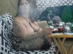 Sexy Thick Latina 420 Suck and Fuck with Anal Creampie Thumb