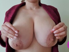 PLAYING WITH MY BIG TITS TO GET YOUR FLUIDS | JOI Thumb