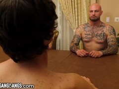DevilsGangbang Four Guys Double-Bang Their Dream Girl Hard Thumb