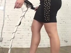 big boobs moder get fucked so hard dressed tight skirt and highheels Thumb