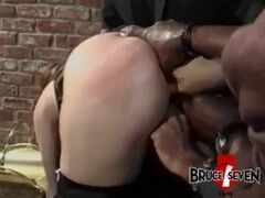 BRUCE SEVEN - Barbara Doll Takes On 3 Cocks Thumb